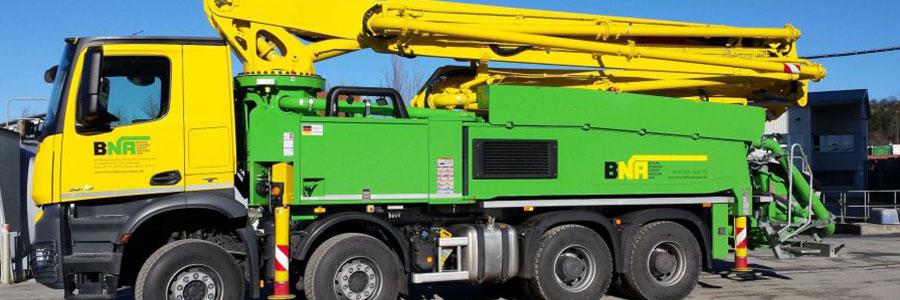 Valet u. Ott GmbH & Co. KG, Betonpumpen BNA Reutlingen